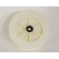 Polea pvc rodamiento 120-140 milímetros o eje 40 cinta 9-14-16 milímetros