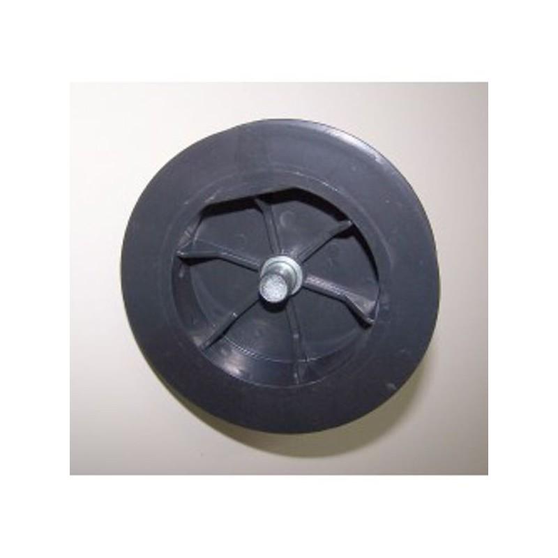 Polea pvc con espiga 120-140 milímetros eje 40 cinta 18-20-milímetros