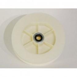 Polea pvc rodamiento 120-140 milímetros eje 40 cinta 18-20 milímetros