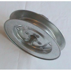 Polea metal eje 60 o octogonal