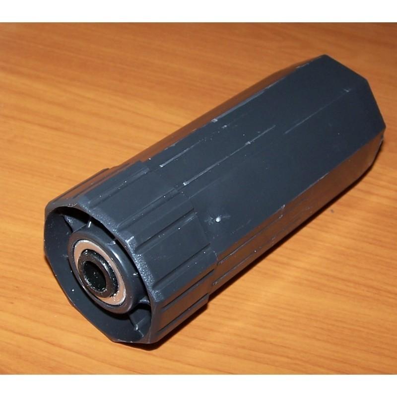 Contera pvc con rodamiento ejes octogonal 60-50 milímetros