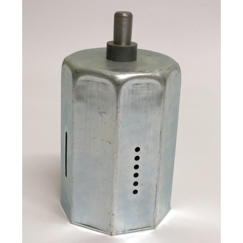 Contera reforzada con espiga de 12 milímetros de diámetro eje de 70 milímetros