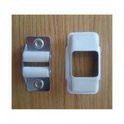 Guía-cintas con embellecedor para cinta de 22 milímetros
