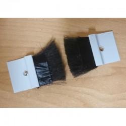 Cepillo guía-cintas para cinta de 22 milímetros