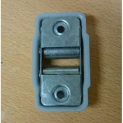 Guía-cintas todo metal embellecedor para cinta de 22 milímetros