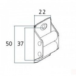 Medidas pasa-cintas para cinta de 14 milímetros