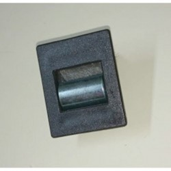 Guía-cintas mono-block pvc frontal para cinta de 20 milímetros