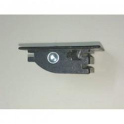 Guía-cinta mono-block pvc frontal para cinta de 20 milímetros