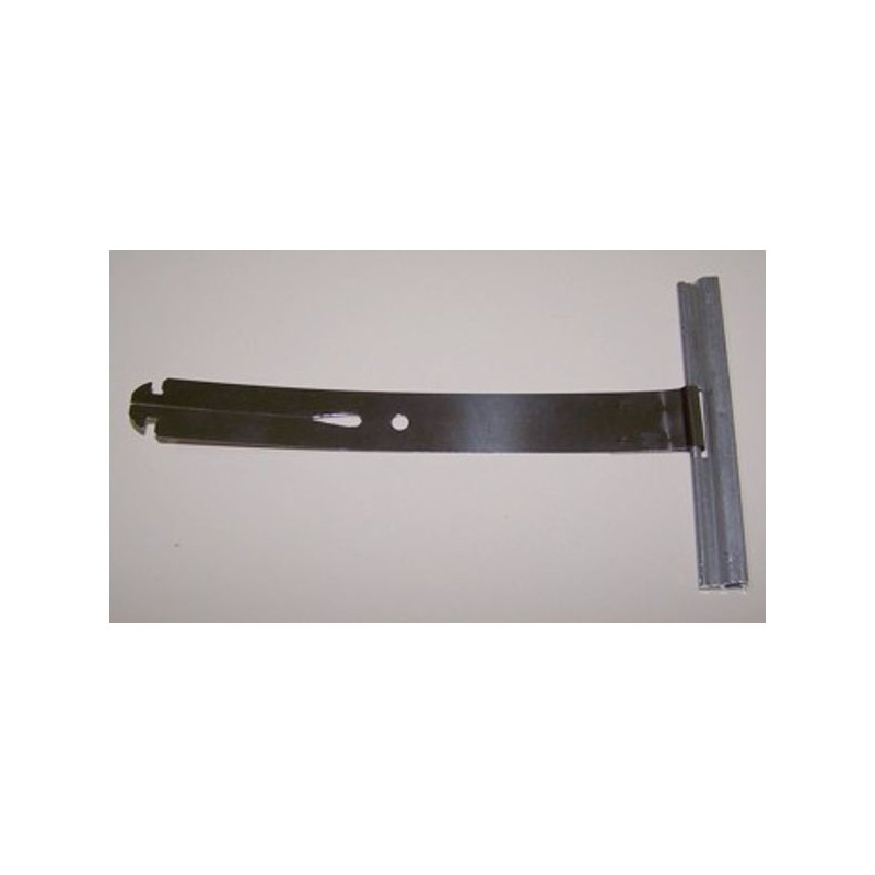 Tirante metálico unión eje persiana tipo flecha largo