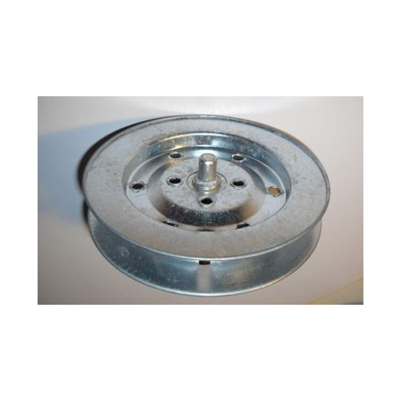Polea metálica 155 milímetros o eje 58 cinta 22 milímetros
