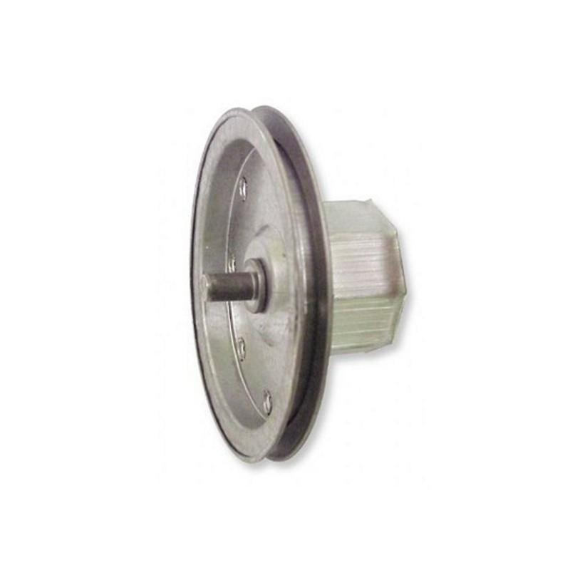 Polea metálica 150 milímetros o eje 60 milímetros para sirga
