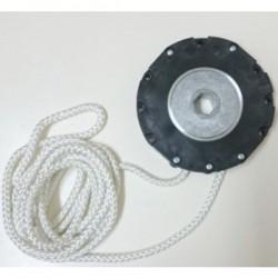 Cardan de cordón continuo cuerda blanca