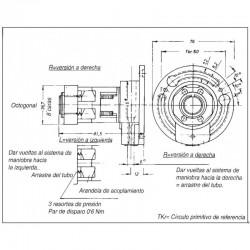 Medida-mecanismo-cardan-engranaje-serie-t