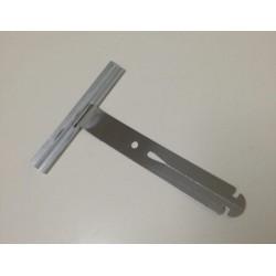 Tirante metálico unión eje persiana tipo flecha