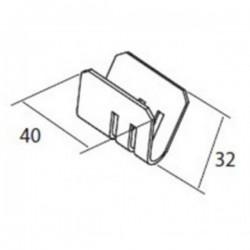Medidas unidad pieza u soporte sencillo