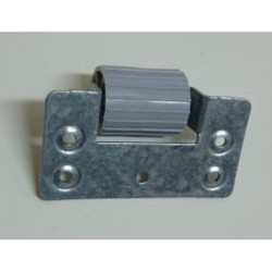 Vista posterior rodillo separador del cajón a la persiana
