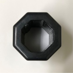 Adaptador reductor para eje octogonal de 60 milímetros a 40 milímetros