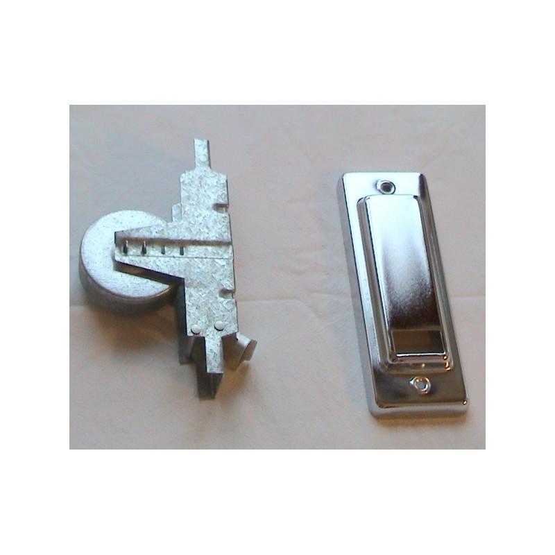 Conjunto recogedor cinta de 22 milímetros pequeño metálico