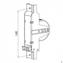 Esquema recogedor cinta de 22 milímetros pequeño metálico