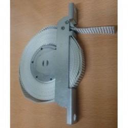 Maquina recoge cintas 20 milímetros sin placa universal