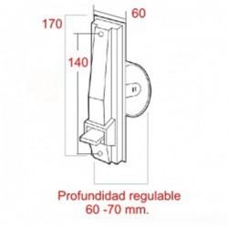 Medidas recogedor de cinta 22 milímetros pvc pequeño