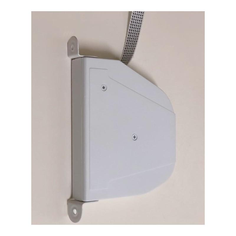 Recogedor cinta 14 milímetros pata metálica exterior abatible