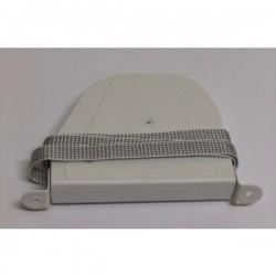 Recoge cinta 14 milímetros pata metálica exterior abatible