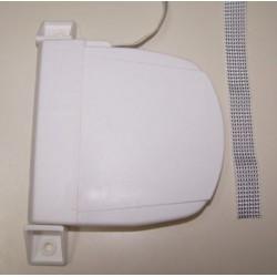 Recogedor Pvc cinta 18 milímetros abatible exterior