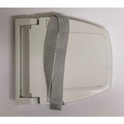 Recogedor cinta 20 milímetros plástico exterior abatible