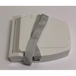 Recogedor cintas 20 milímetros pvc exterior abatible