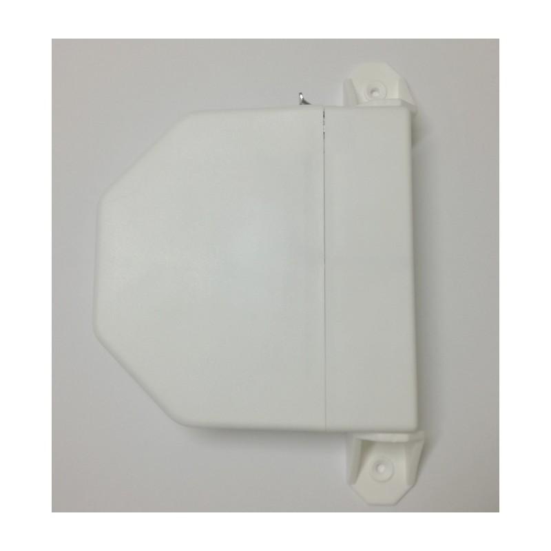 Recogedor cinta 22 milímetros pvc exterior abatible