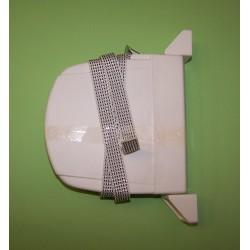 Recogedor cinta 14 milímetros exterior abatible