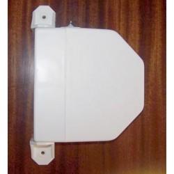 Recogedor cintas 22 milímetros pvc exterior abatible