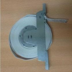 Maquina recoge cinta 20 milímetros sin placa universal