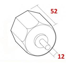 medida contera eje de 50 milímetros.