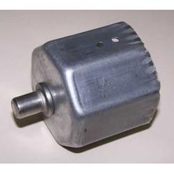 Contera metálica con espiga eje octogonal 58 milímetros