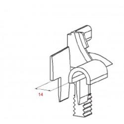 Medidas juego embudo con rodillo para cajón