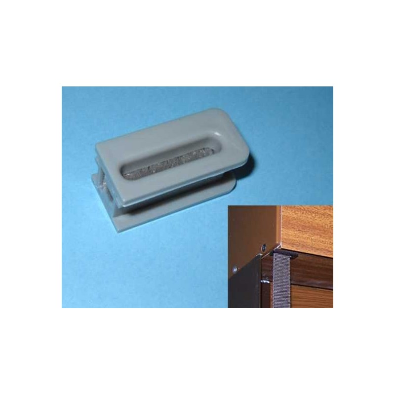 Pasa-cintas monoblock pvc inferior cinta 20 milímetros