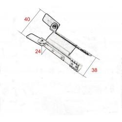 Medidas pinzas de seguridad para persianas