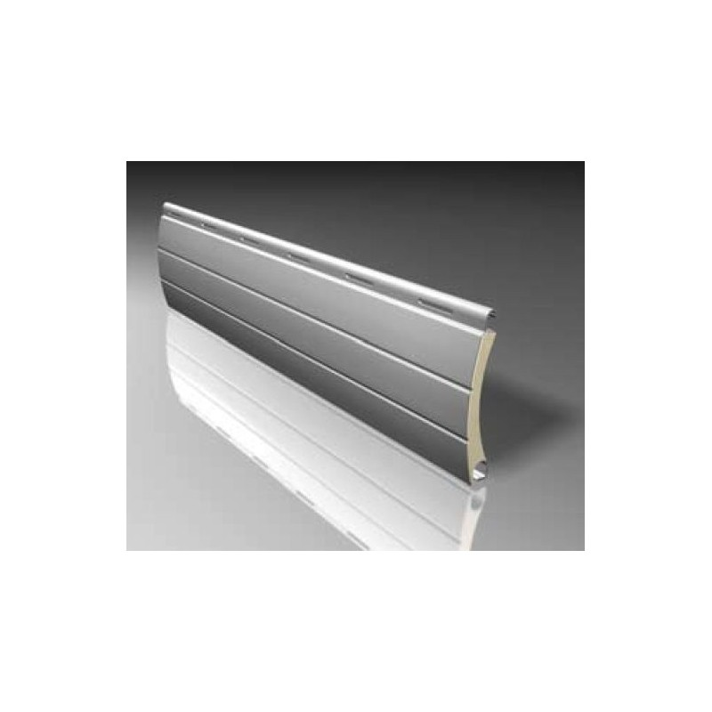 Lama persiana curva aluminio 39 milímetros para ejes 30 a 40