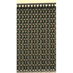 Cortina cadena aluminio verde