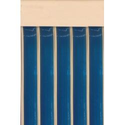 Cortina cinta azul