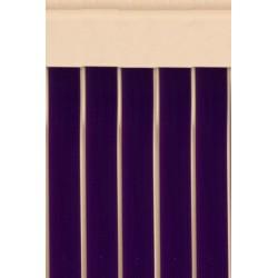 Cortina cinta morada