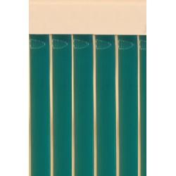 Cortina cinta verde esmeralda