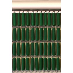 Cortina tubo verde