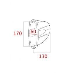 medidas cajetin empotrar para recogedor de cinta