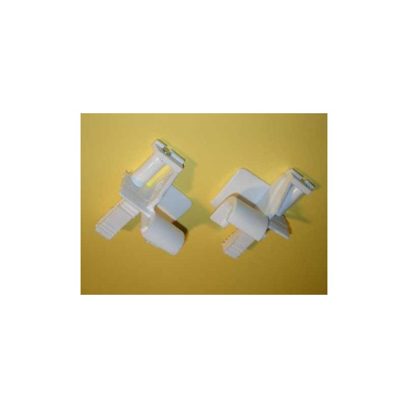 Juego embudos pvc con rodillo para cajón exterior cinta 14 milímetros