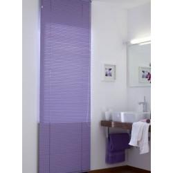 Veneciana color violeta para baño