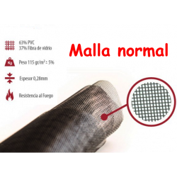 tejido mosquitera normal