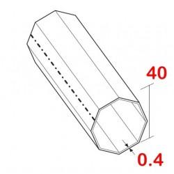 medidas eje de 40 milímetros